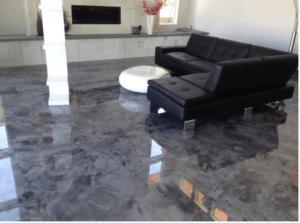 Epoxy Floor in house