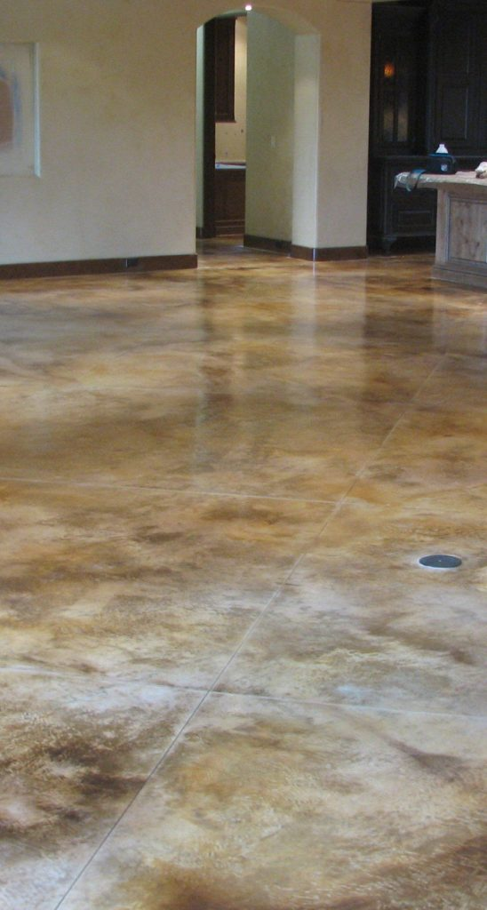 Polished concrete designs