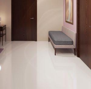 Minimalist polished Concrete