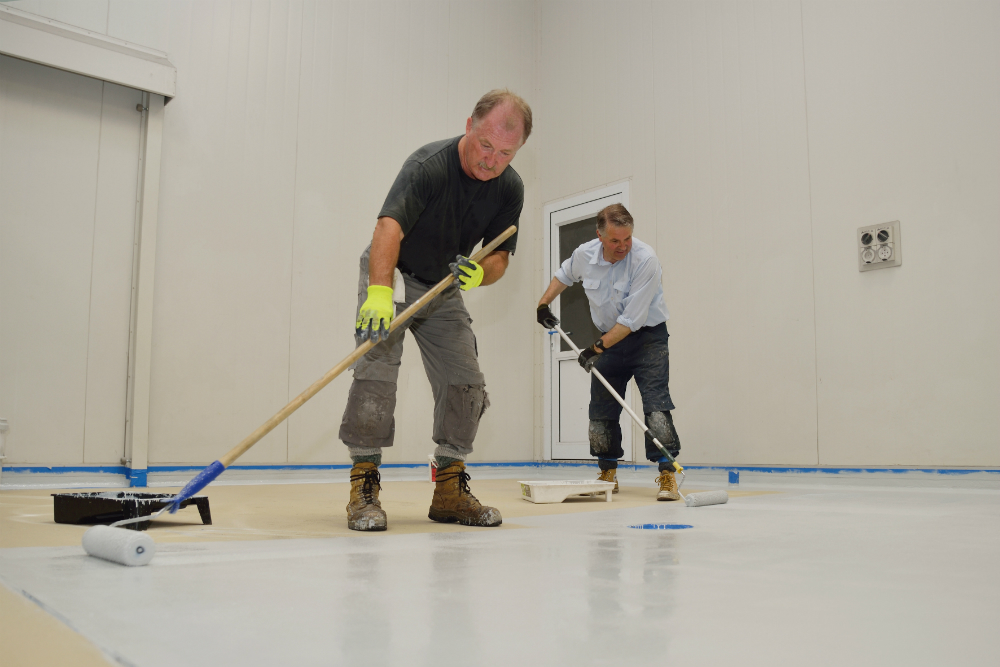 number of coats helps determing the cost of epoxy flooring