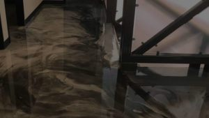 Parallax Epoxy Floor